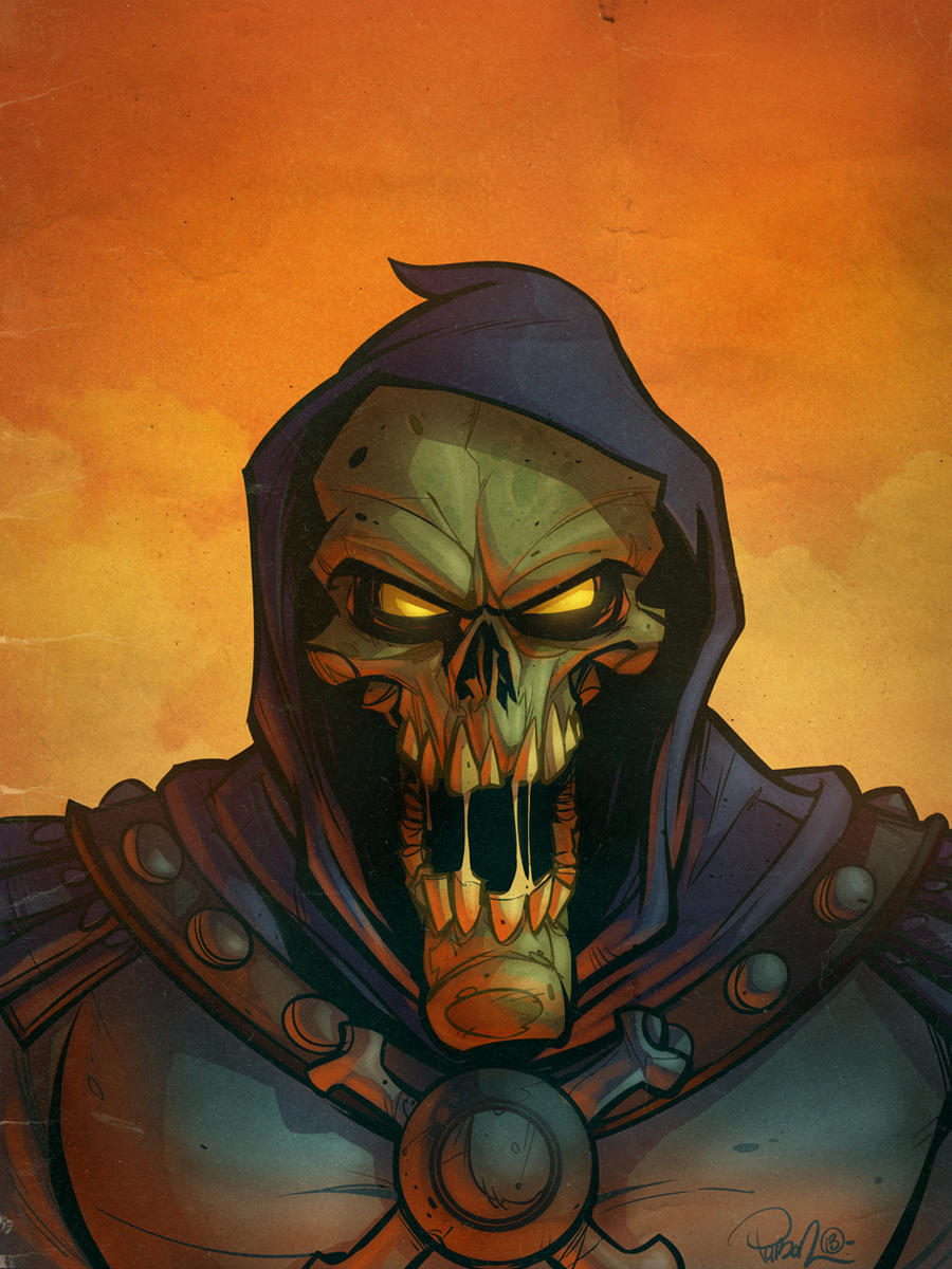 Skeletor by blitzcadet