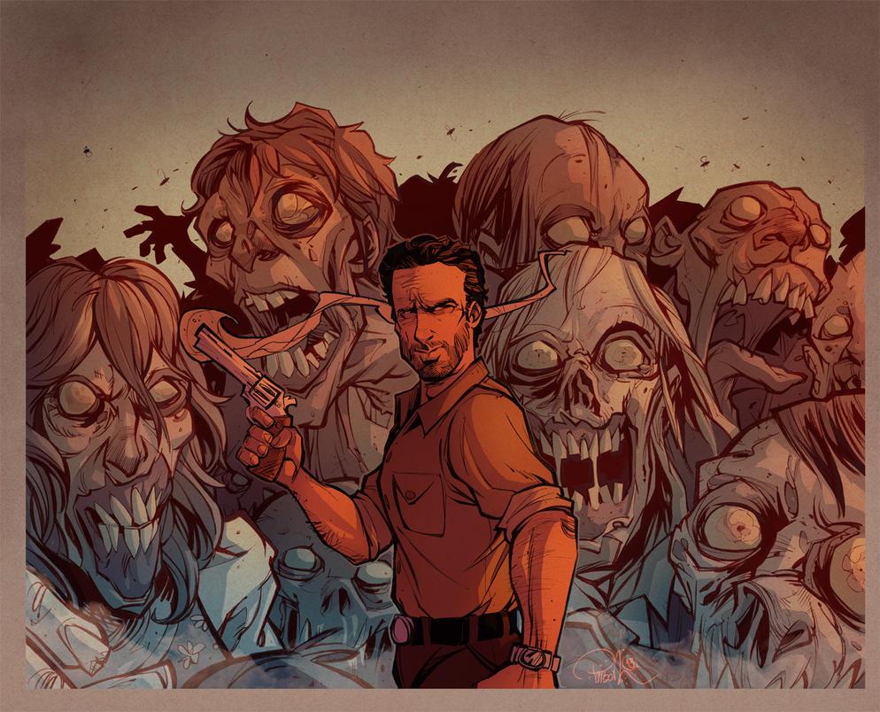 Walking Dead by blitzcadet