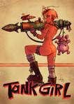 Tank Girl Bazooka by blitzcadet
