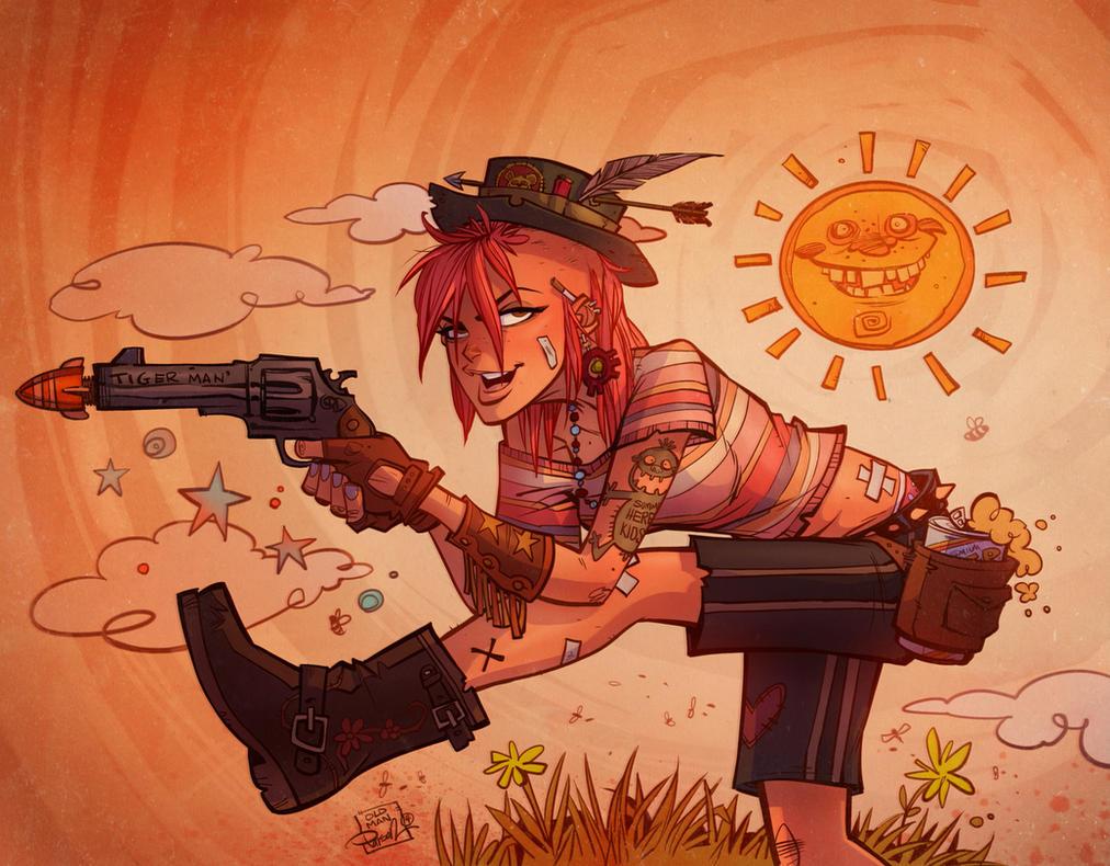 Cartoon Characters 21st Century : Tank girl sunshine by blitzcadet on deviantart