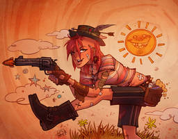 Tank Girl Sunshine by blitzcadet