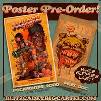 POSTER PRE-ORDER! by blitzcadet