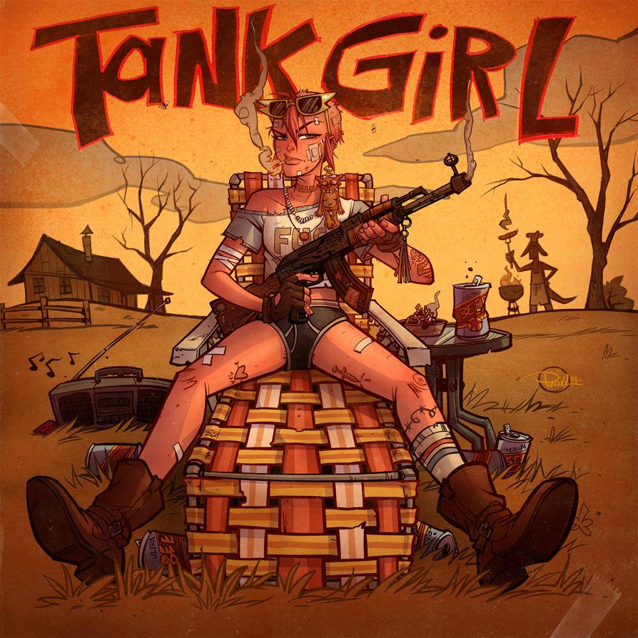 Tank Girl Range Life by blitzcadet