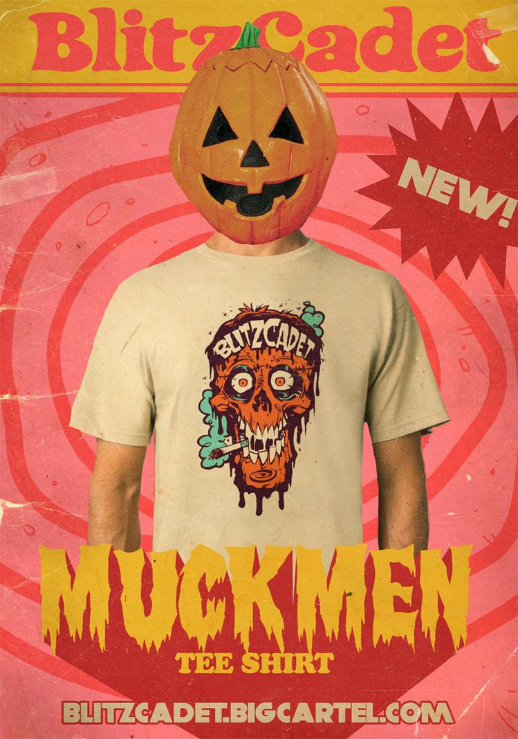 BlitzCadet MuckMen Shirts NOW AVAILABLE! by blitzcadet