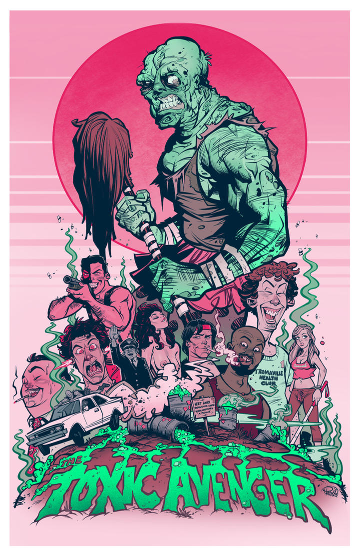 The Toxic Avenger by blitzcadet