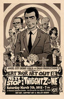 Twilight Zone Poster : Eat Your Art Out 8 by blitzcadet