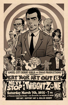 Twilight Zone Poster : Eat Your Art Out 8
