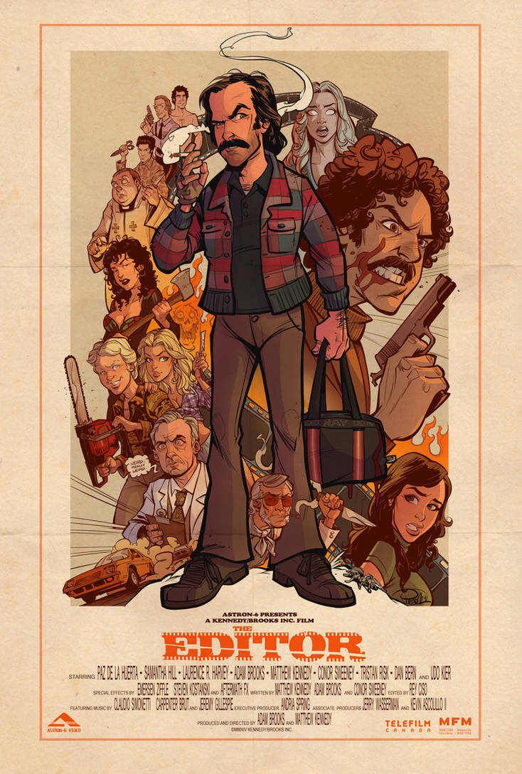 the Editor Poster by blitzcadet