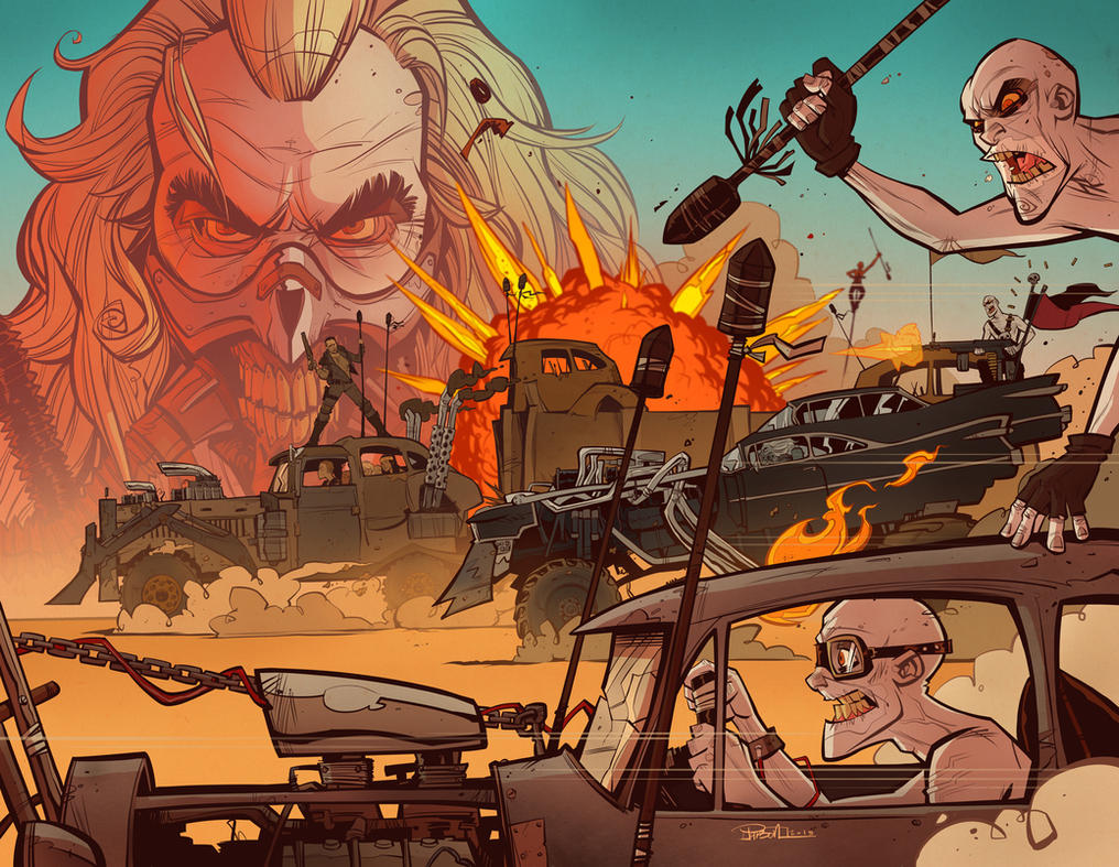 pdf comic mad max fury road mad max 2