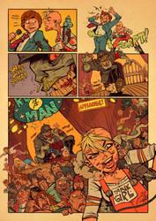 Tank Girl : the Runny Man Pg.8 by blitzcadet