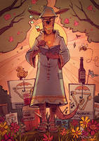 Tank Girl : Church of Booga by blitzcadet