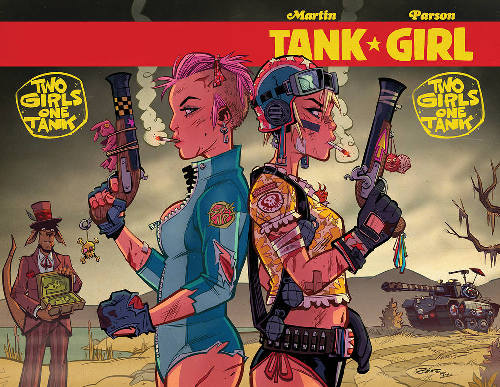 Tank Girl : Two Girls One Tank #4 by blitzcadet