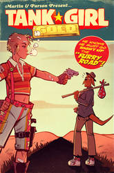 Tank Girl GOLD #1 by blitzcadet