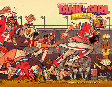Tank Girl Gold #2 Cover