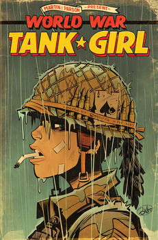 World War Tank Girl #1 Cover