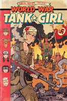 World War Tank Girl #2 Cover by blitzcadet