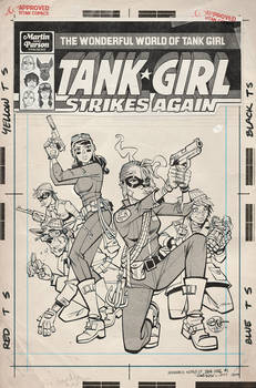 Wonderful World of Tank Girl Issue 1 Variant Cover