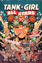Tank Girl All Stars 1 by blitzcadet