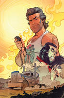 Big Trouble in Little China : Old Man Jack #11 by blitzcadet