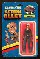 Action Alley #1 Cover B Action Figure Variant by blitzcadet