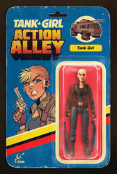 Action Alley #1 Cover B Action Figure Variant