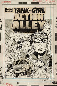 Action Alley #1 Cover C Artist Edition Cover