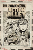Action Alley #1 Cover C Artist Edition Cover by blitzcadet