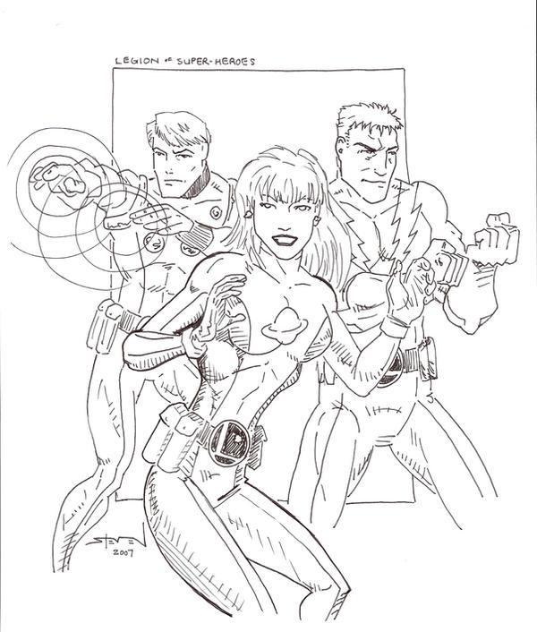 Legion of Superheroes by StevenWilcox