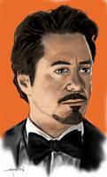 Tony Stark in color