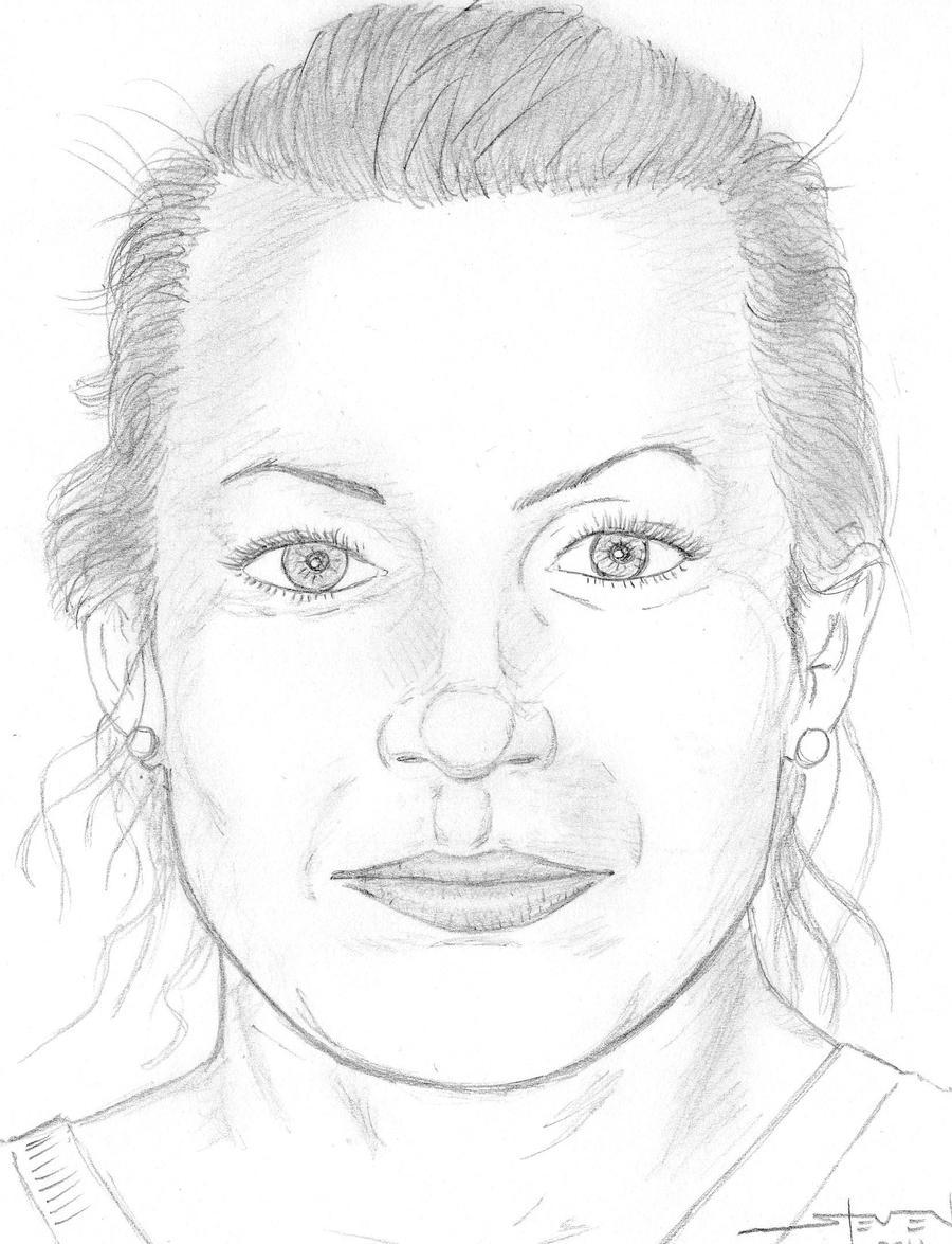 Karla Osornio WIP portrait