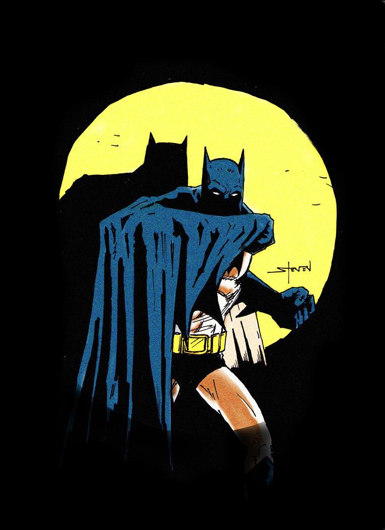 The Batman by StevenWilcox
