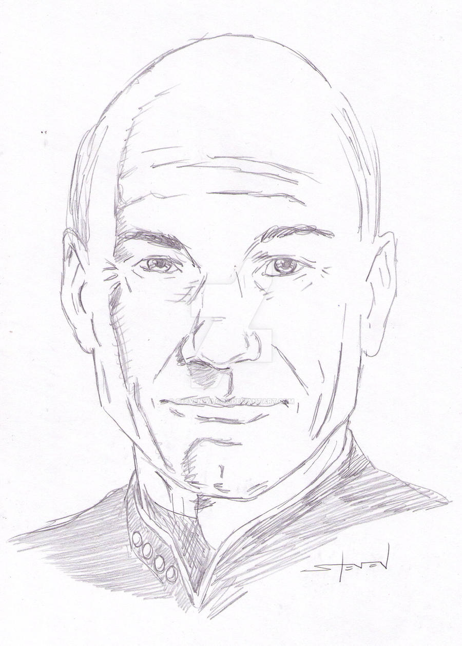 Captain Picard sketch