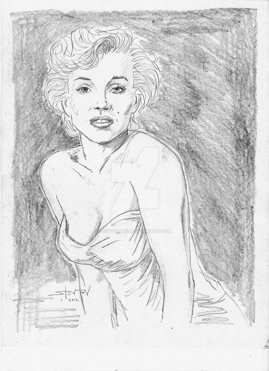 Marilyn Monroe pencils
