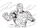 Iron Man inked