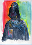 Darth Vader painted