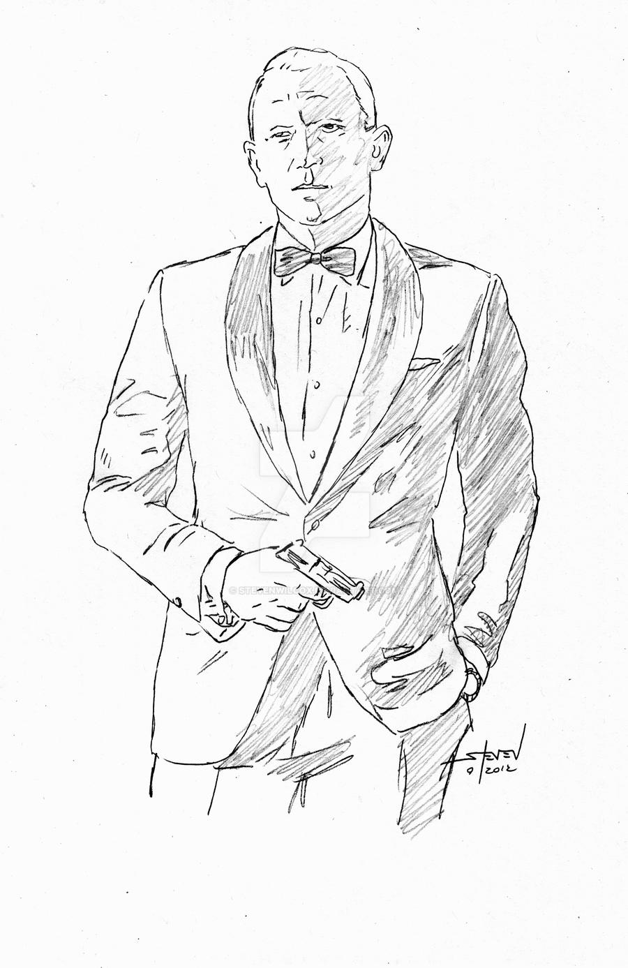 james bond coloring pages characters - photo#5