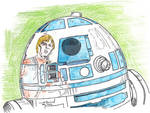 R2D2 and Luke