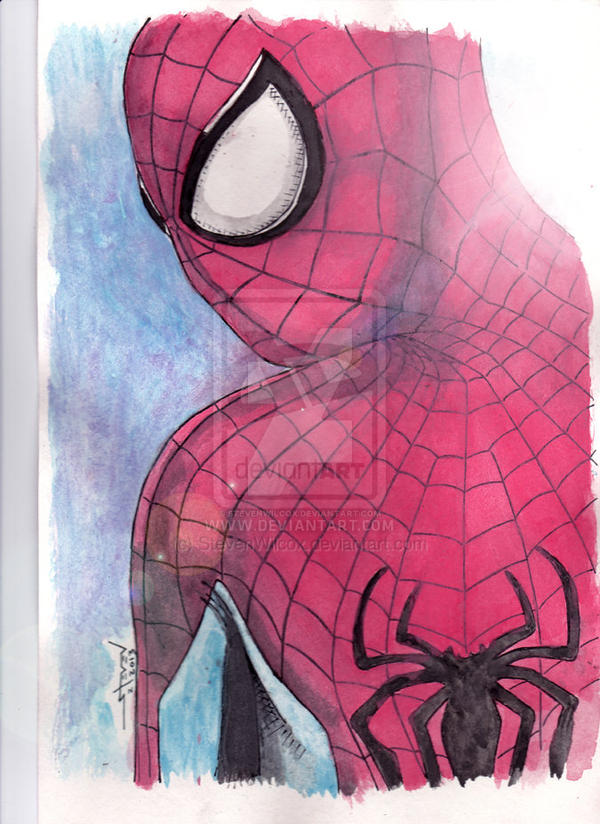 Spider-Man Watercolors