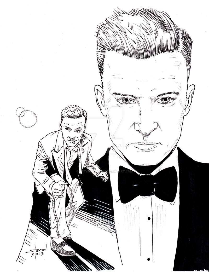 Justin Timberlake: Suit And Tie