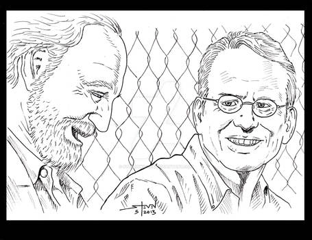 The Walking Dead: Hershel and Milton