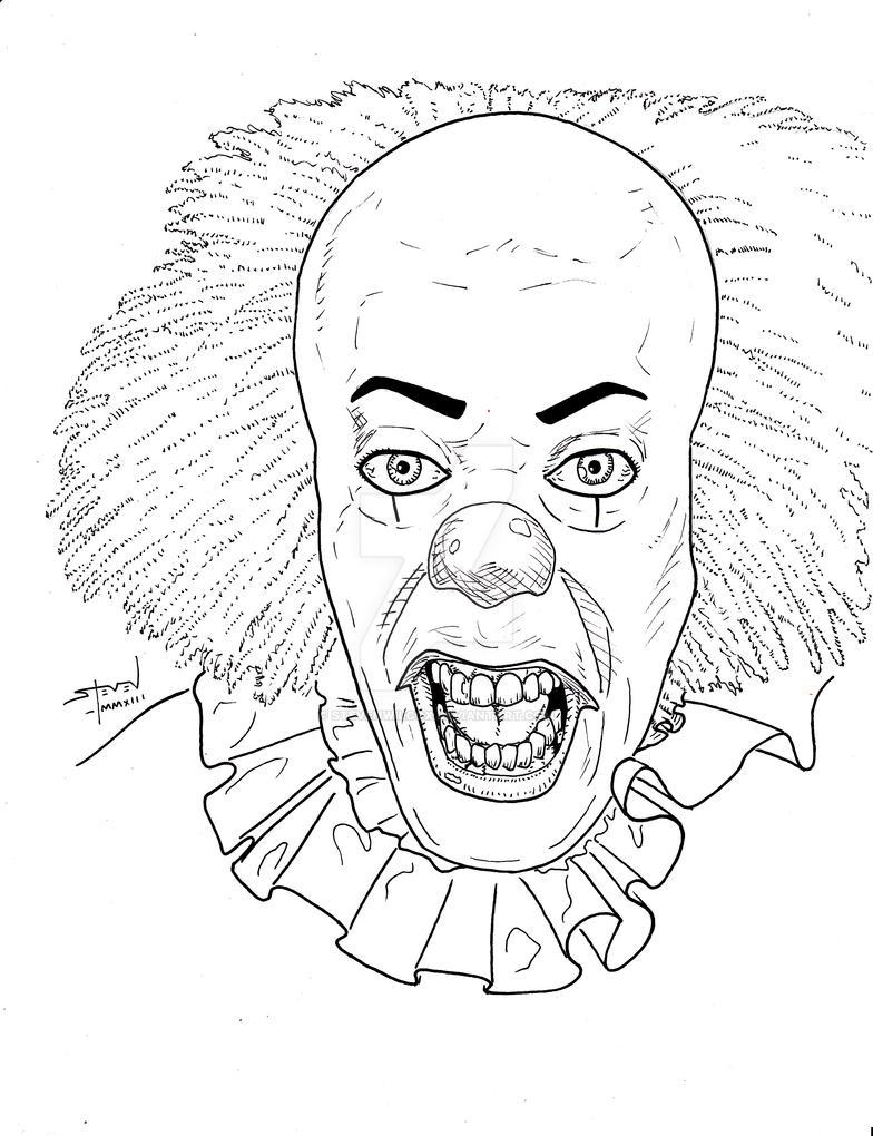 pennywise the clownstevenwilcox on deviantart