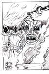 Dr Doom sketch card