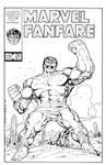 Marvel Fanfare 29 John Byrne Recreation