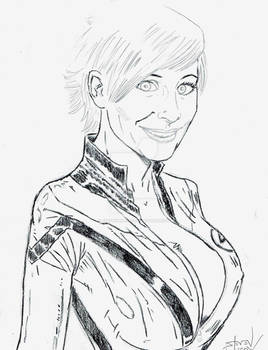 Marie-Claude Bourbonnais as The Invisible Woman