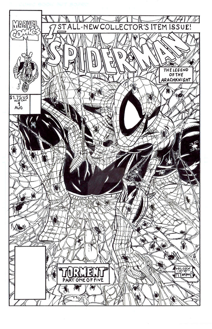 Spider-Man 1 Todd McFarlane Recreation by StevenWilcox