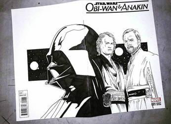 Anakin Obi Wan and Darth