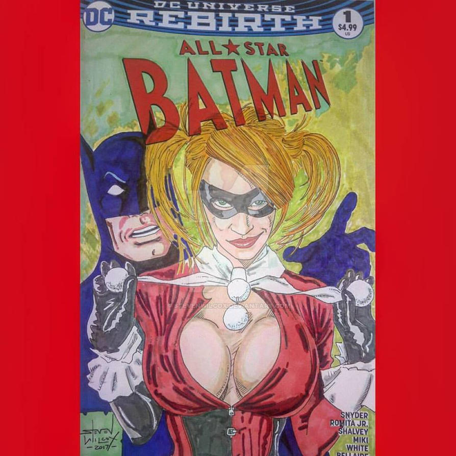 Harley and Bats by StevenWilcox