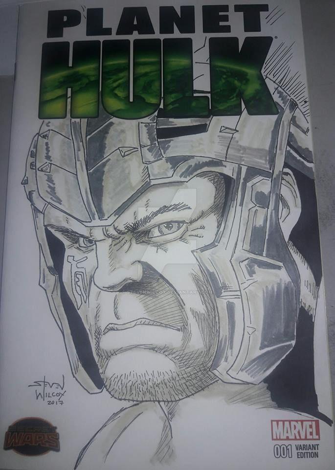 Gladiator Hulk by StevenWilcox