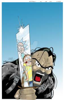 Rick and Morty #46 Vartiant - NOT FINAL ART