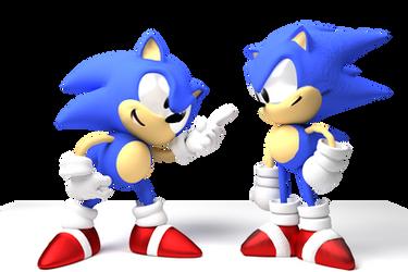 Classic Sonic Meets Toei by SoniFoXx